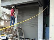 Cần lưu ý gì khi xây ô chờ lắp đặt cửa cuốn khi làm nhà