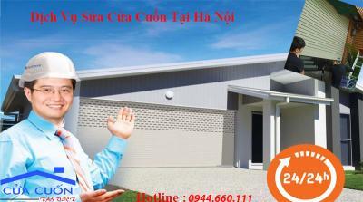 Dịch vụ sửa chữa cửa cuốn Quận Hoàng Mai uy tín giá rẻ.